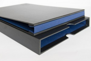 Presentation folders, slip cases, wallets & binders